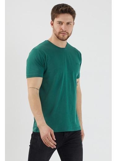 Slazenger Slazenger SANDER Erkek T-Shirt K. Haki